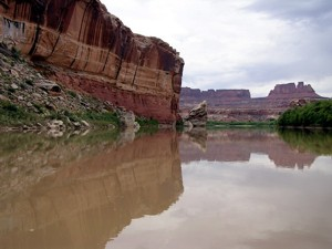 approach -- photo by Sienna M Potts, Green River, Canyonlands, Utah, 21 September 2005